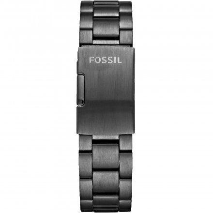 Grafitowa bransoletka Smartwatch Fossil FTW1207 22 mm