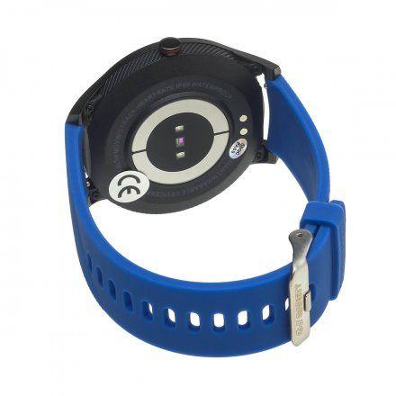 Smartwatch Garett Men 3S niebieski z paskiem