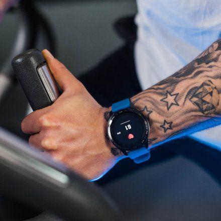 Smartwatch Garett Men 3S RT niebieski z paskiem
