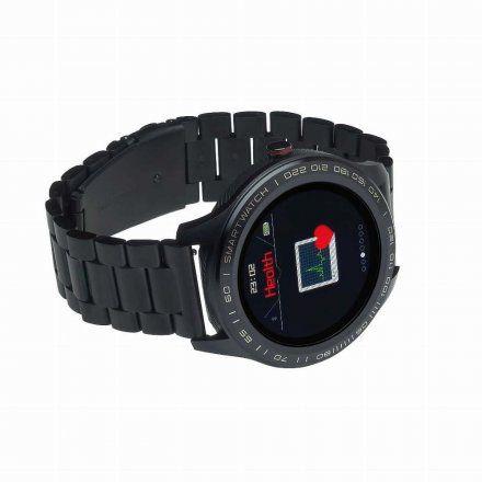 Smartwatch Garett Men 3S czarny z bransoletą