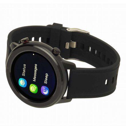 Smartwatch Garett Men 3S czarny z paskiem