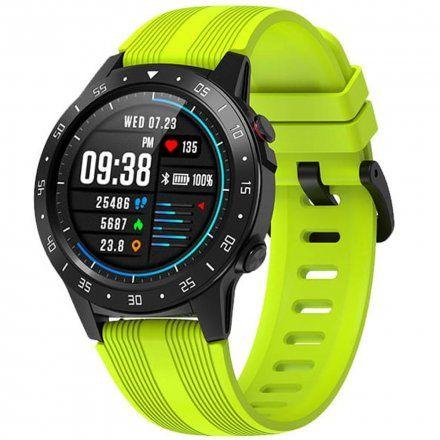 Smartwatch Garett Multi 4 Sport RT zielony z paskiem