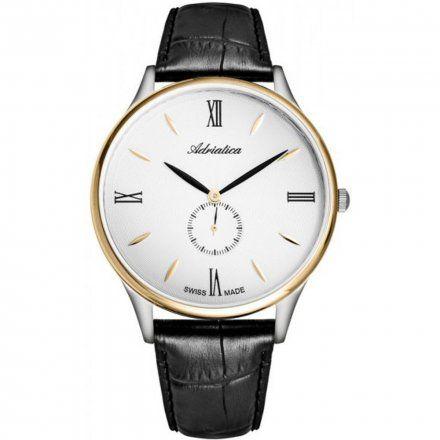 Zegarek Męski Adriatica na pasku A1230.2263QXL - Zegarek Kwarcowy Swiss Made