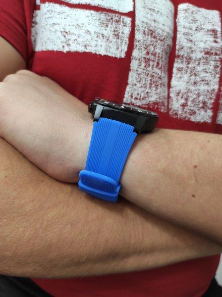 Smartwatch Garett Multi 4 Sport RT niebieski z paskiem