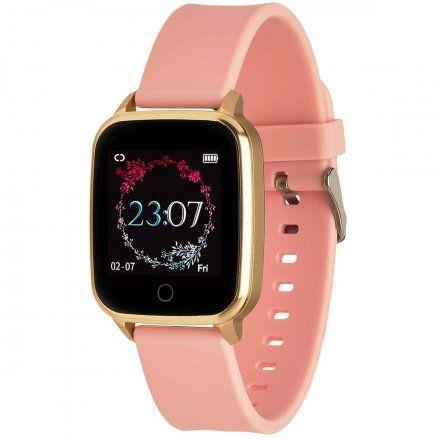 Smartwatch Garett Lady Viki złoty z paskiem