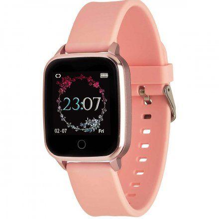 Smartwatch Garett Lady Viki różowy z paskiem