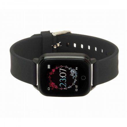 Smartwatch Garett Lady Viki czarny z paskiem