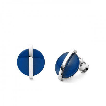 Biżuteria Skagen Kolczyki damskie SKJ1294040 Cobalt Glass
