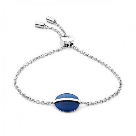Biżuteria Skagen Bransoletka damska SKJ1295040 Cobalt Glass