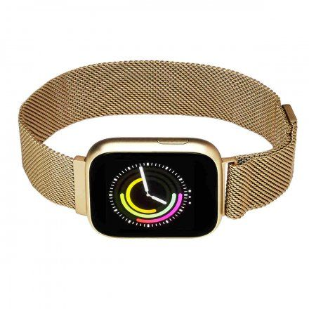 Smartwatch Garett Women Eva złoty z bransoletą
