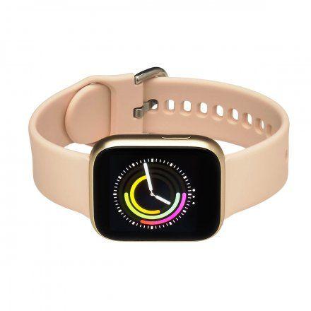 Smartwatch Garett Women Eva złoty z paskiem
