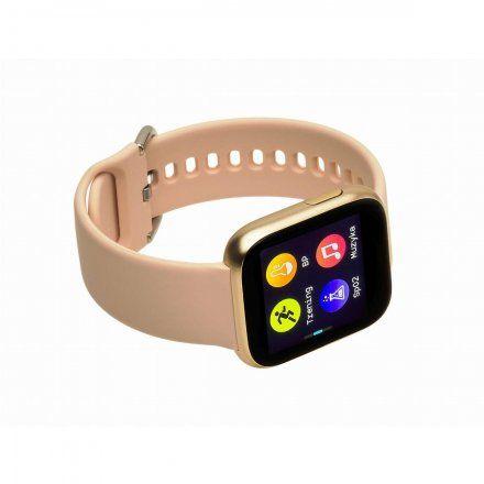 Smartwatch Garett Women Eva RT złoty z paskiem
