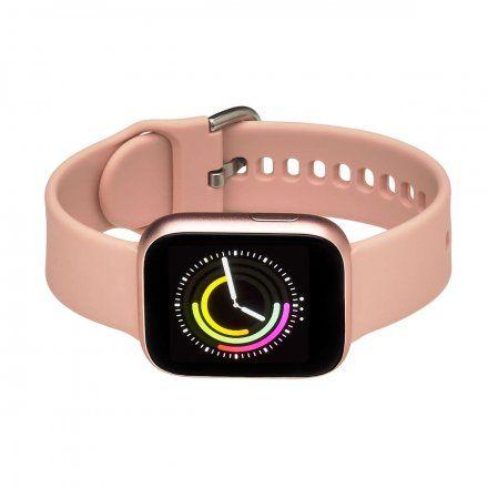 Smartwatch Garett Women Eva RT różowy z paskiem