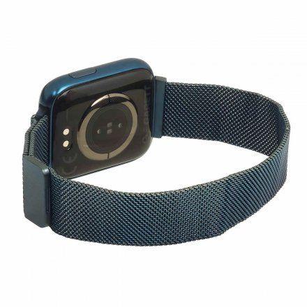 Smartwatch Garett Women Eva RT niebieski z bransoletą