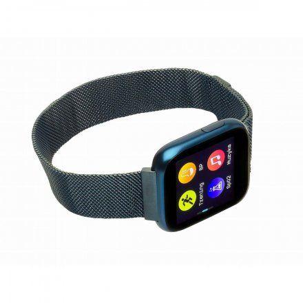 Smartwatch Garett Women Eva niebieski z bransoletą