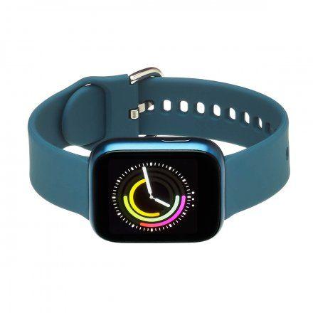 Smartwatch Garett Women Eva RT niebieski z paskiem