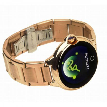 Smartwatch Garett Women Karen RT złoty z bransoletą