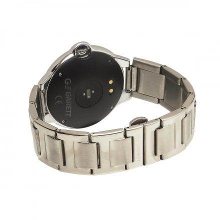 Smartwatch Garett Women Karen srebrny z bransoletą