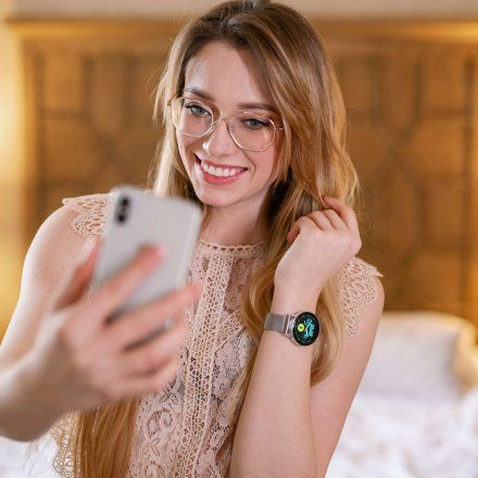 Smartwatch Garett Lady Bella różowy z bransoletą