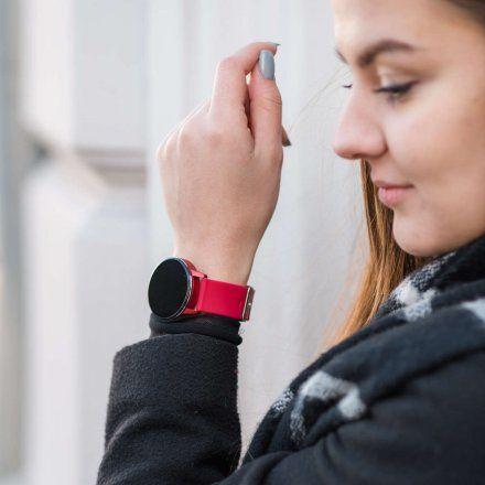 Smartwatch Garett Lady Bella różowy z paskiem