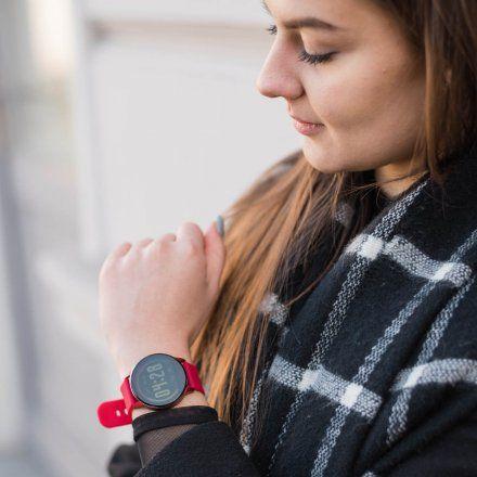 Smartwatch Garett Lady Bella czerwony z paskiem