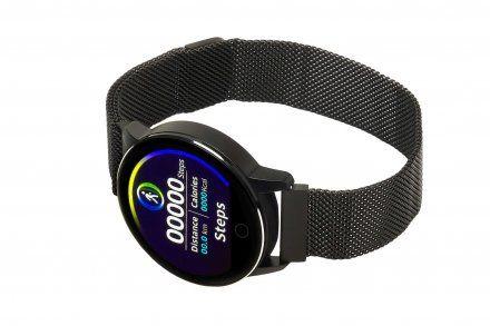 Smartwatch Garett Lady Bella czarny z bransoletą