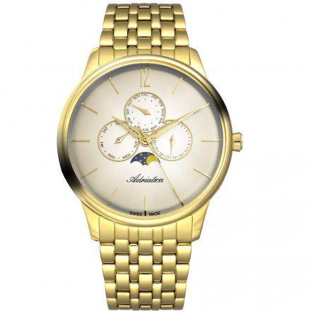Zegarek Męski Adriatica na bransolecie A8269.1151QF - Multifunction Swiss Made