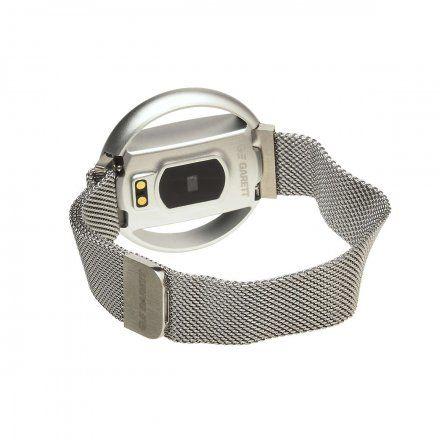 Smartwatch Garett Women Nicole RT srebrny z bransoletą