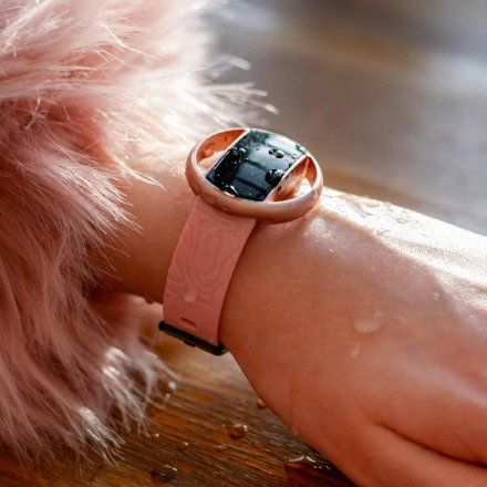Smartwatch Garett Women Nicole RT różowy z bransoletą