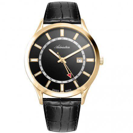 Zegarek Męski Adriatica na Pasku A8289.1214Q - Zegarek Kwarcowy Swiss Made