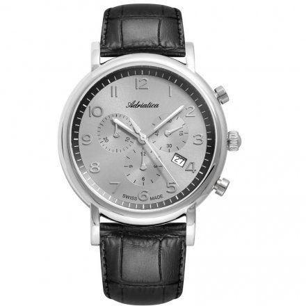 Zegarek Męski Adriatica na Pasku A8297.5227CH - Chronograf Swiss Made