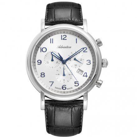 Zegarek Męski Adriatica na PaskuA8297.52B3CH - Chronograf Swiss Made