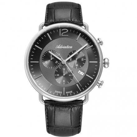 Zegarek Męski Adriatica na Pasku A8299.5256CH - Chronograf Swiss Made