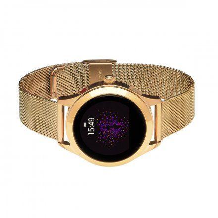 Smartwatch Garett Women Naomi złoty z bransoletą