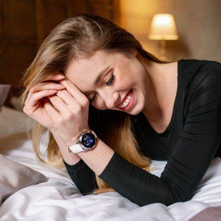 Smartwatch Garett Women Naomi RT złoty z bransoletą