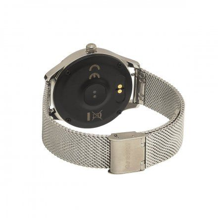 Smartwatch Garett Women Naomi srebrny z bransoletą