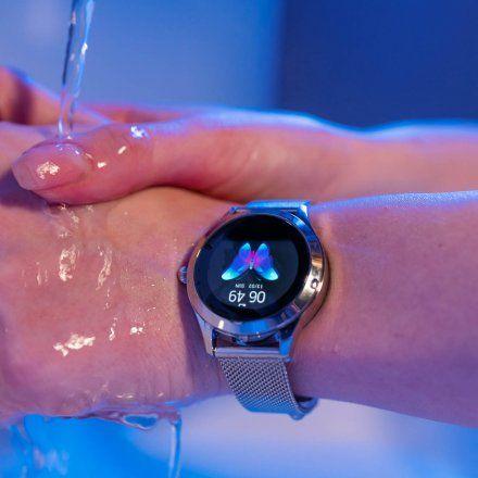 Smartwatch Garett Women Naomi RT czarny z paskiem