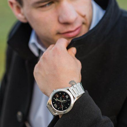 Smartwatch Garett GT22S RT srebrny z bransoletą