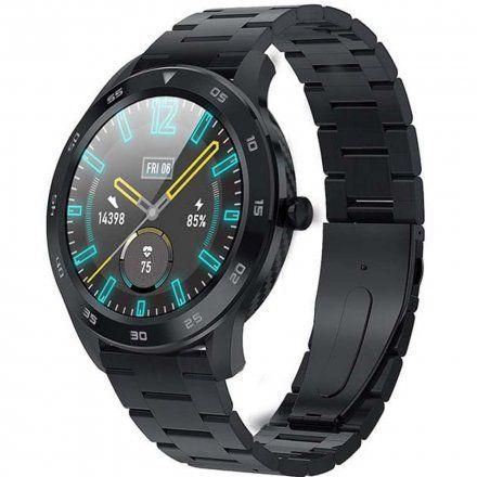 Smartwatch Garett GT22S RT czarny z bransoletą
