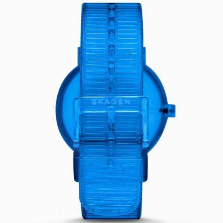 Skagen SKW6602 Zegarek Skagen Aaren Transparent Blue