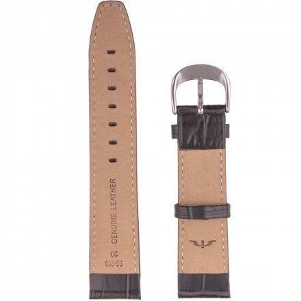 Pasek skórzany do zegarka Bisset - BS-208- 18 mm - XL