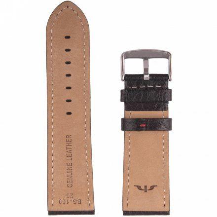 Bisset Skórzany pasek do zegarka Bisset  BS-168-26mm uniwersalny