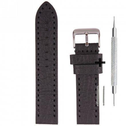 Pasek skórzany do zegarka Bisset - BS-210 - 22 mm