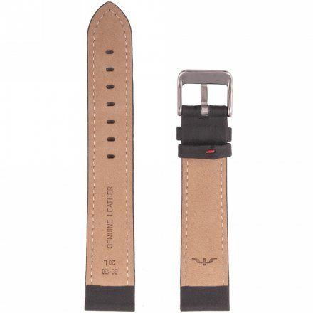Pasek skórzany do zegarka Bisset BS-158- 18 mm rozmiar XL