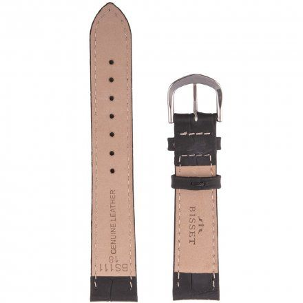 Bisset Pasek skórzany do zegarka BISSET BS-111 - 18mm uniwersalny