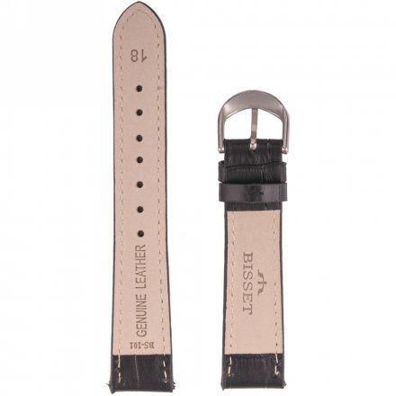 Bisset Pasek skórzany do zegarka BISSET BS-101 - 18mm uniwersalny