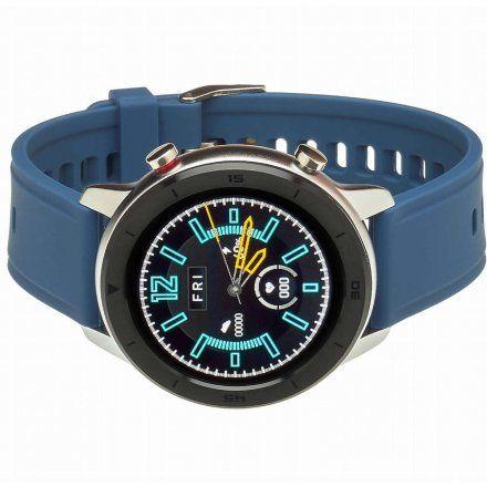 Smartwatch Garett Master RT niebieski z paskiem