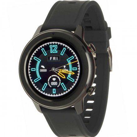 Smartwatch Garett Master RT czarny z paskiem