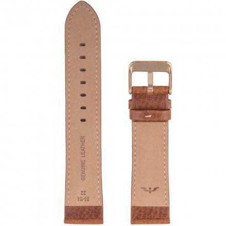 Bisset Pasek skórzany do zegarka BISSET BS-154-22mm uniwersalny