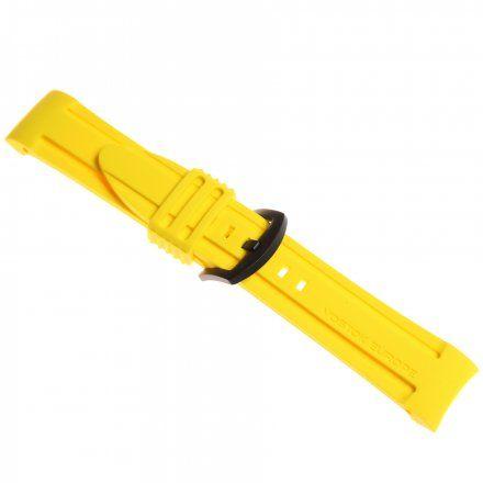 Pasek do zegarka Vostok Europe Pasek Anchar - Silikon (4144) zółty z czarną klamrą